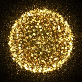 stock photo of glitter sparkle  - Gold sparkle glitter background - JPG