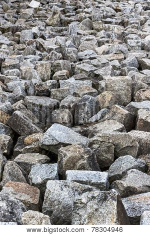 a stack of natural stone is located next to each other. representative photo
