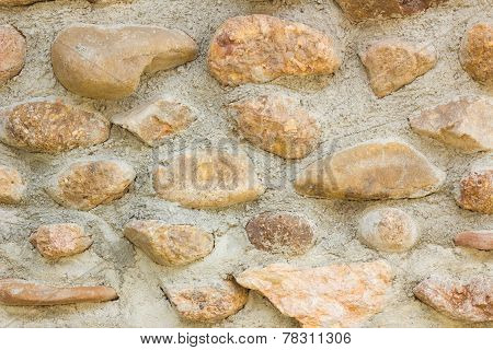 Grunge Mosaic Stone Wall. Background And Texture For Text Or Image