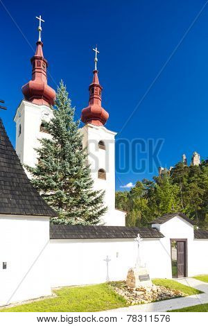 fortified church of All Saints, Divin, Slovakia