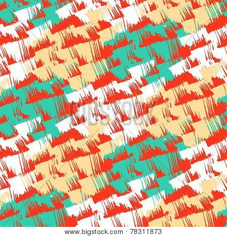 Grunge hand painted abstract pattern
