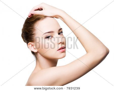Beautiful Glamour Woman Face