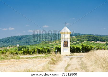 God's torture with vineyard near Retz, Lower Austria, Austria