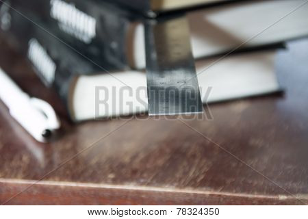 Books And Ruler
