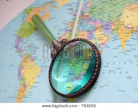 Atlas Magnifier Africa