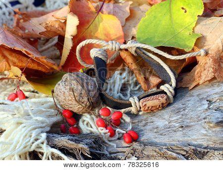 Ethnic Handmade Leather Bracelet