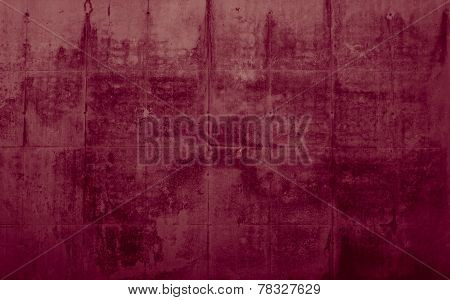 Red background with scratches