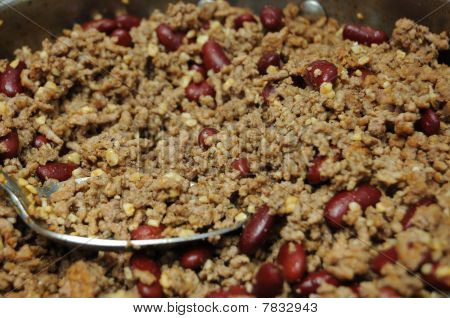 Hamburger Meat And Kidney Beans