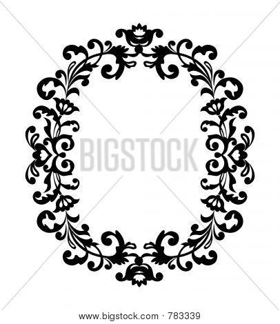 dekorative Rahmenformate ornament