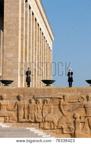 Ankara, Guardsmen Of Ataturk Mausoleum