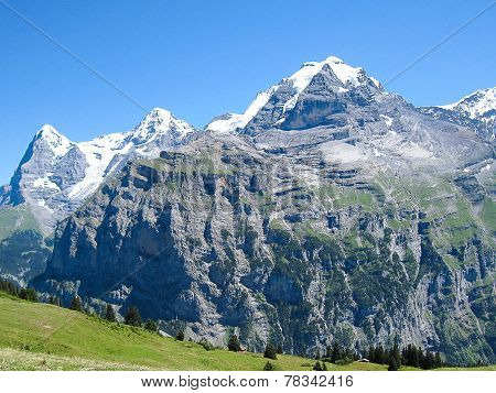 The Jungfrau in the Sun
