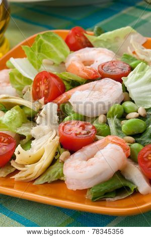 Italian Shrimp Salad