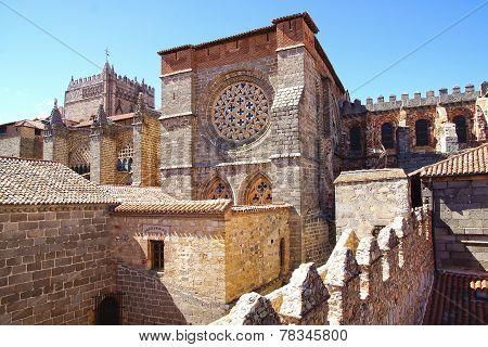 Avila Cathedral.