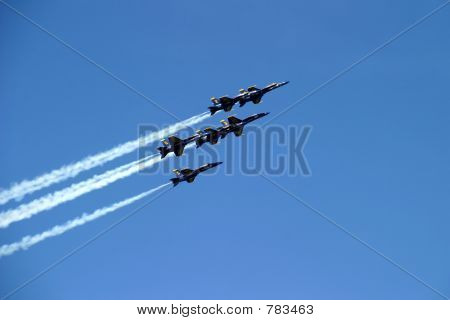 Six-Plane Formation