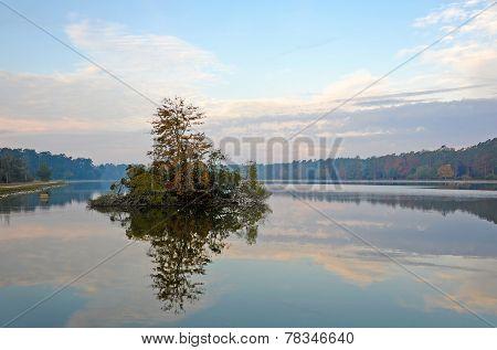 Lake at Daybreak