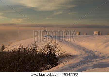 Mountain Landscape Snow
