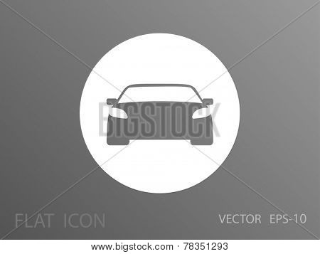 Car icon, vector illustration