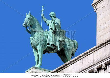 Statue of Saint Louis