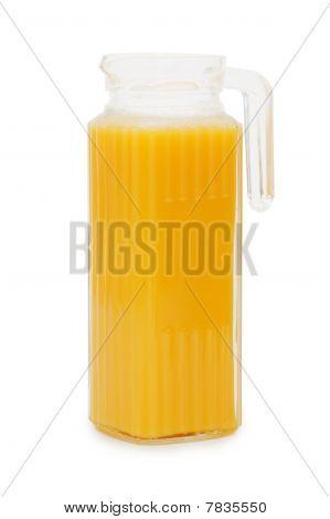 Orange Juice In A Decanter