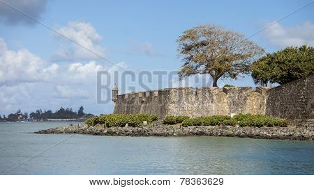 El Morro, the 16th century Spanish fortification in San Juan, Puerto Rico