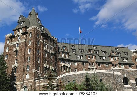 Banff Springs Hotel in the Canadian Rockies