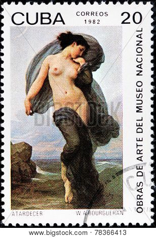 Bouguereau Stamp