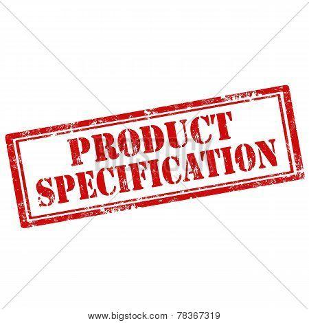 Product Specification-stamp
