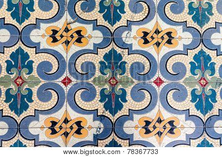 Ancient Mosaic Tile Floor