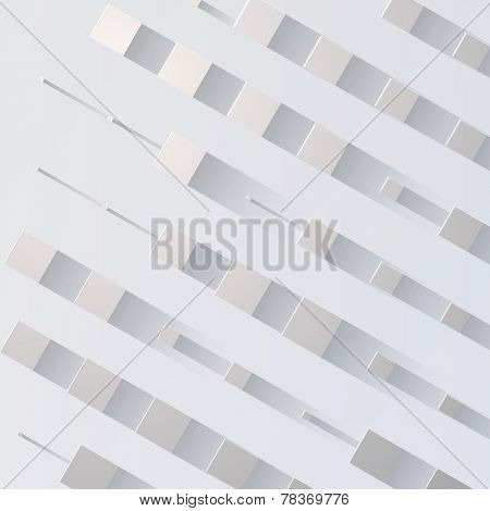 Vector Abstract Background with flat shadow