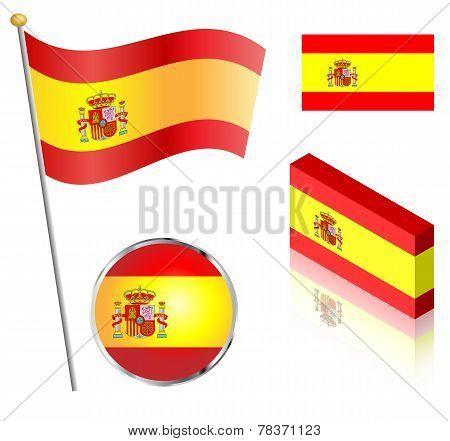Spanish Flag Set