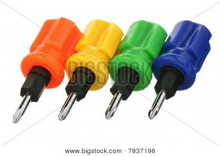 Four screw-drivers