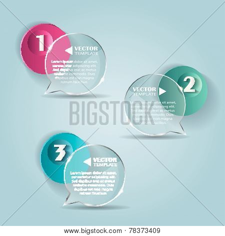 Set of bubbles