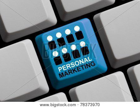 Computer Keyboard Personal Marketing