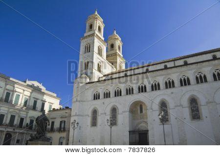 Altamura Cathedral. Apulia.
