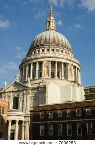 St Paul's Cathedral from Paternoster Square