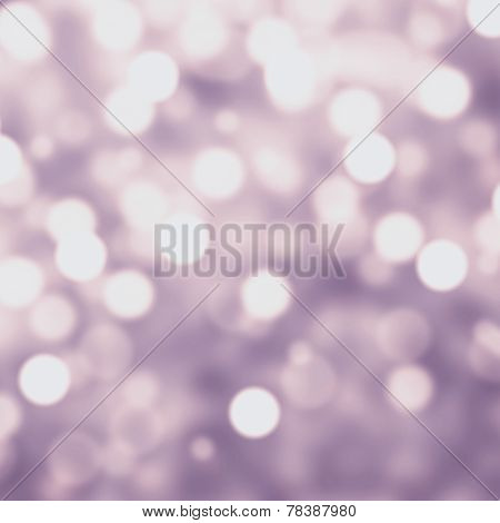 Purple Lights Festive Christmas  Background With Texture. Abstract Christmas Twinkled Bright Backgro