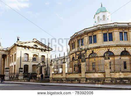 Sheldonian Theatre Oxford