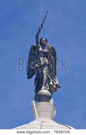 Winged Victory Statue At Gettysburg