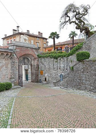Entrance Gate Of The Castle Of Udine, Italy