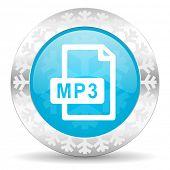 image of christmas song  - mp3 file icon - JPG