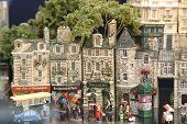toy street scene poster