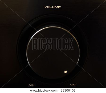 Volume Rotary Button - Maximum Volume