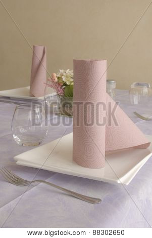 napkin rolled