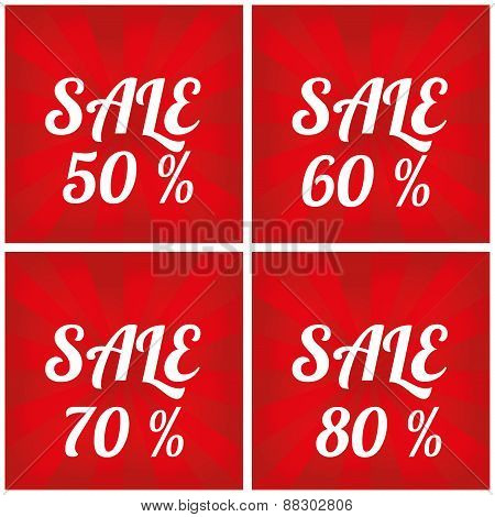 Sale design template.