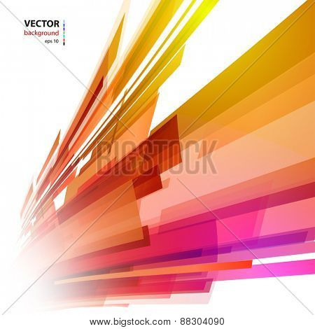 Abstract color light background, easy editable