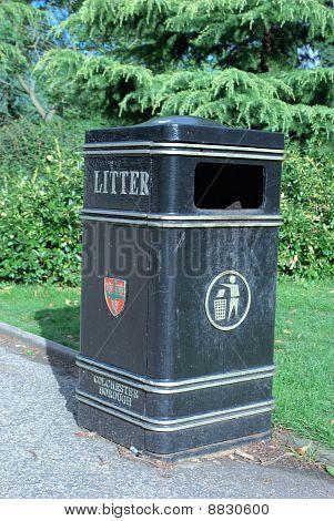 Municipal basura Bin