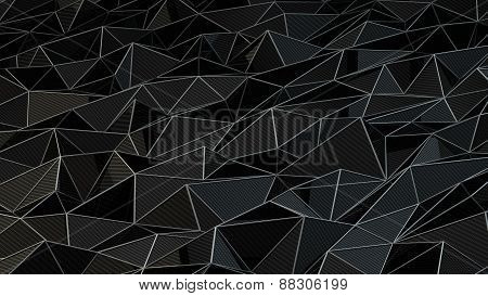 carbon triangle background
