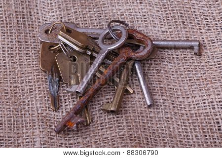 Bunch Of Old Keys