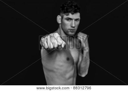 Man punching