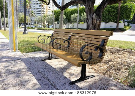 Relaxing Bench Along Galt Ocean Mile